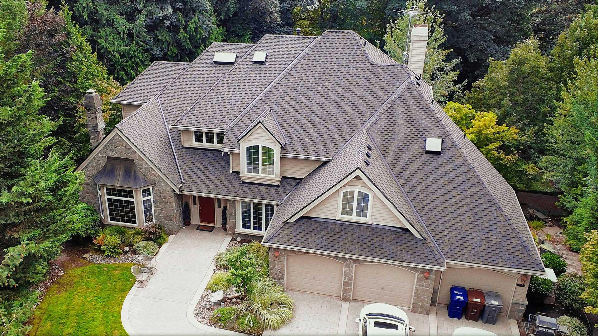 Samammish Cedar Shake Roof Conversion to Composite Shingles