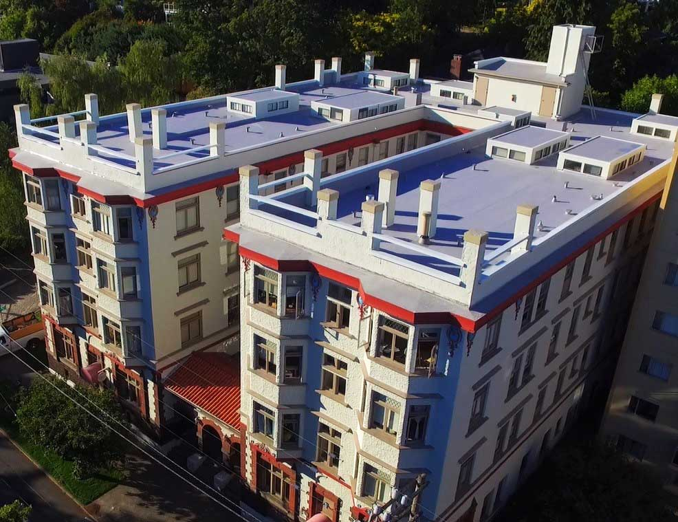 Residential & Commercial Roofing: Historic Chelsea Apartments With Modern TPO Roofing