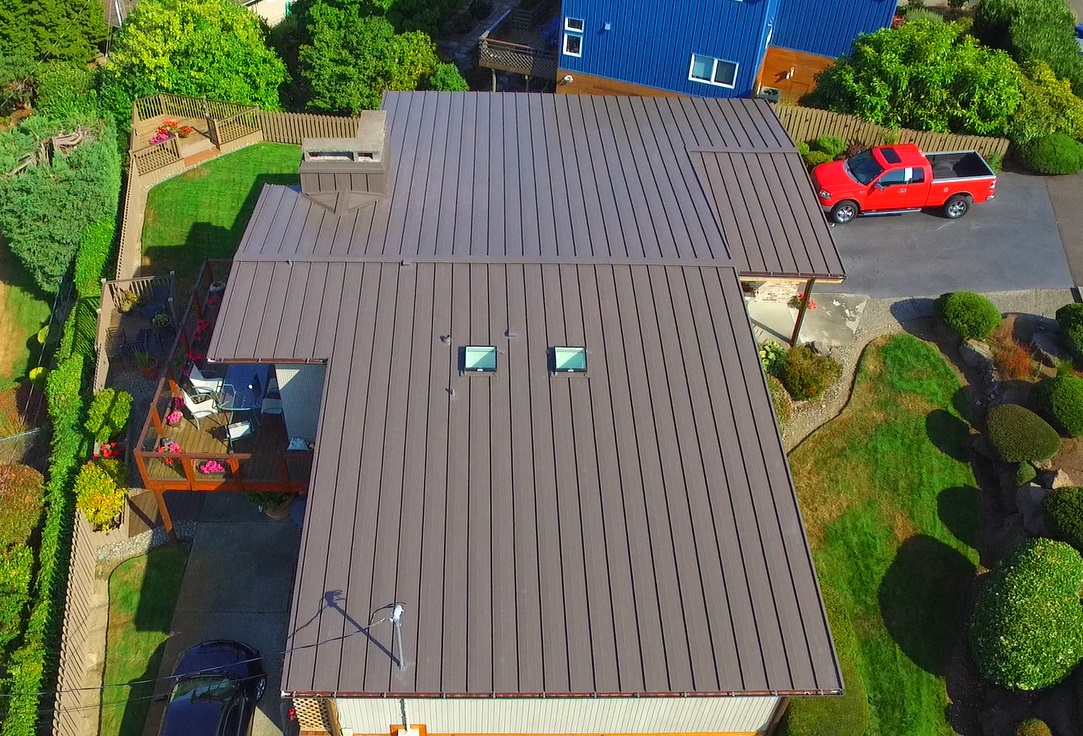 Residential Metal Roof: Lake Washington with high temp ice and water shield