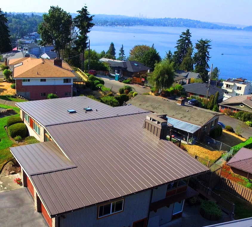 Residential: Lake Washington Metal Roof