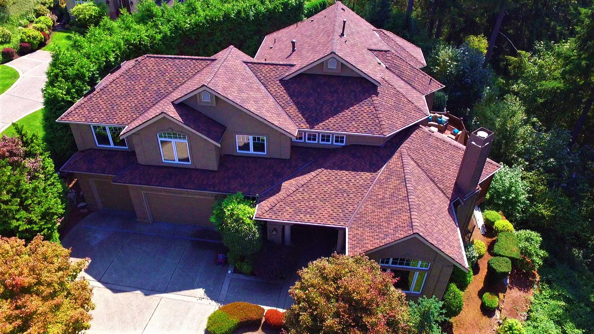 Three Tree Roofing Residential Roofing Project: Newcastle Cedar Conversion Roof